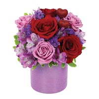 """Shimmering Romance"" flower bouquet (BF341-11KM)"
